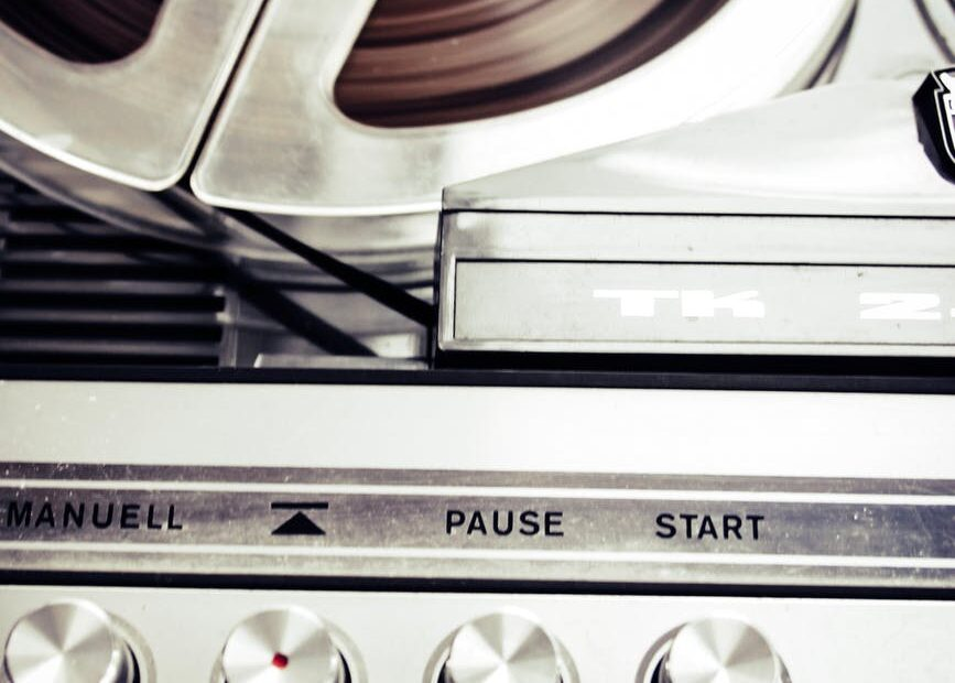vintage sound retro record player